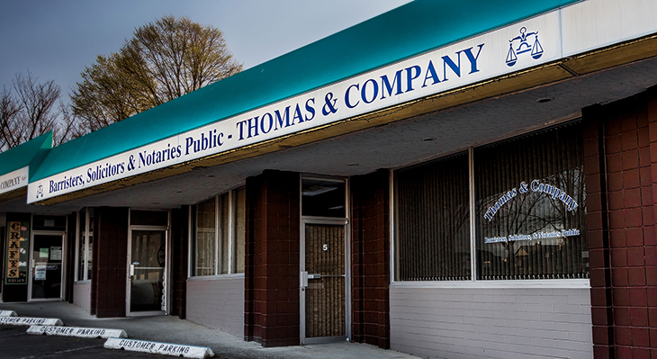 Thomas and Company, Lawyers in Parksville BC